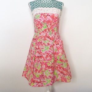 Lilly Pulitzer Ferra Lilly Call Me Kitty Cat Dress